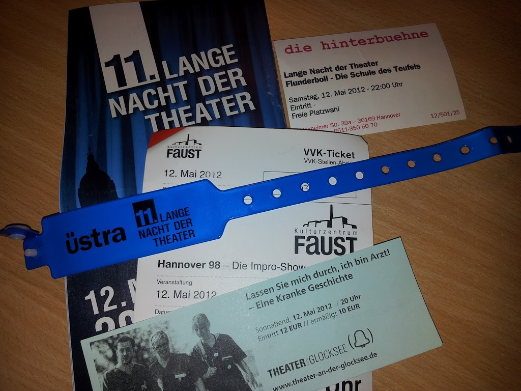 Theater in Hannover und sonst wo Image