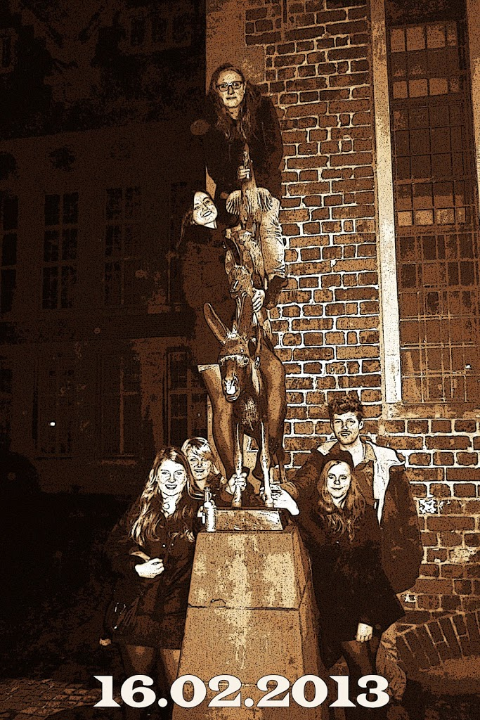 Kein Halt vor den Bremer Stadtmusikanten Image