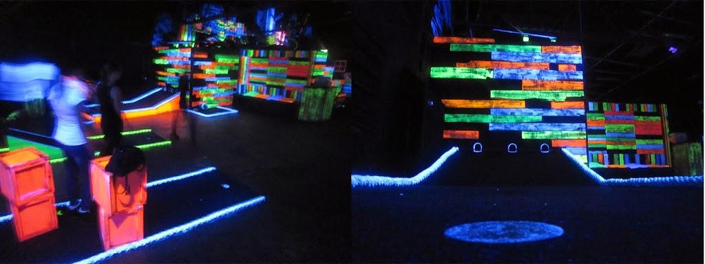 Schwarzlicht-Minigolf in Bremen Image