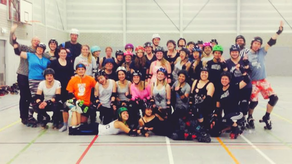 Roller Derby Try-Out in Enschede bei den Eastside Rock'n'Rollers Image