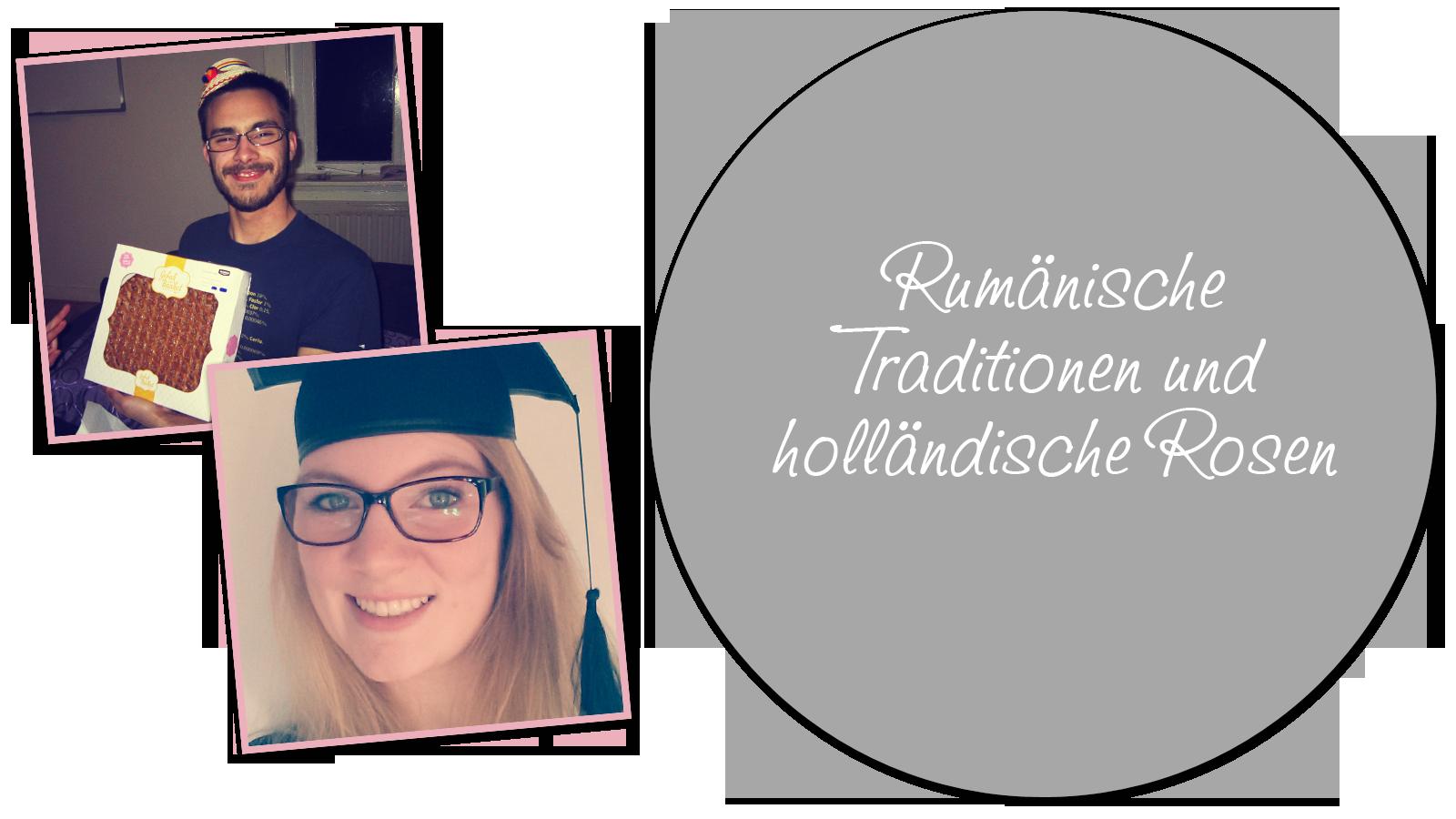 Rumänische Traditionen und holländische Rosen Image