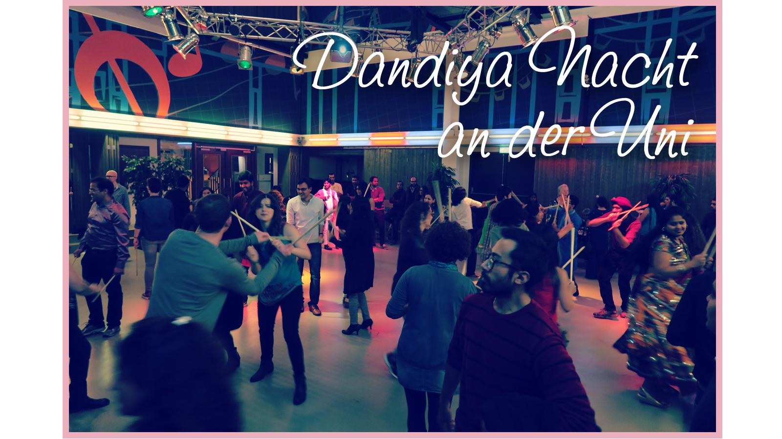 Dandiya Nacht an der Uni Image