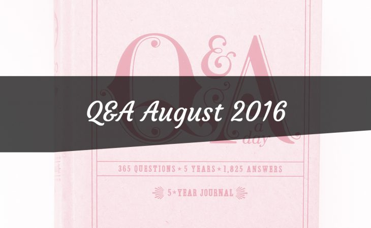 Q&A August 2016 Image